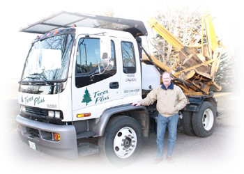 Don Mushitz owns and operates Trees Plus in New Prague, MN